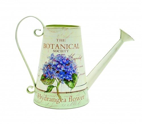 Purple Flower Watering Can