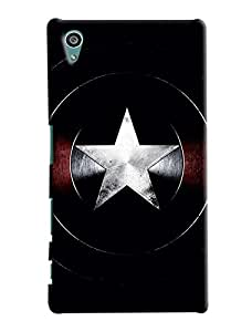 Blue Throat Star Printed Designer Back Cover/Case For Sony Xperia Z5