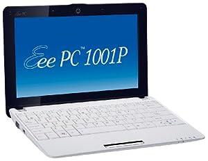 Asus Eee PC 1001P 25,7 cm (10,1 Zoll) Netbook (Intel Atom N450 1.6GHz, 1GB RAM, 160GB HDD, Win XP) weiß