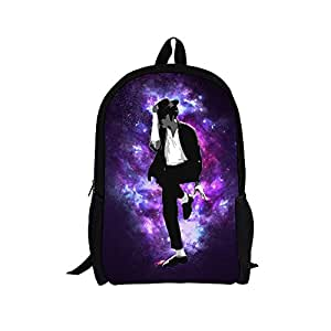 Amazon.com : Michael Jackson Waterproof Bag for Kids, Children School