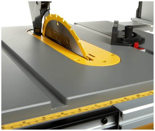 DEWALT DW745  10-Inch Compact Job-Site Table Saw with 16-Inch Max Rip Capacity