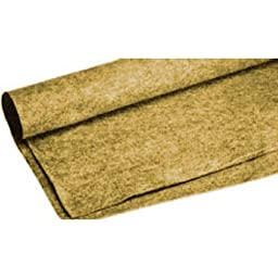 Absolute C15TAN 15-Feet Long/4-Feet Wide Carpet for Speaker Sub Box, RV Truck Car/Trunk Laner (Tan/Cream)