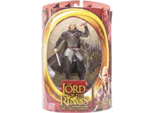 The Lord Of The Rings HELMS DEEP LEGOLAS with Sheild Skateboard from THE LORD OF THE RINGS: THE TWO TOWERS Action Figure