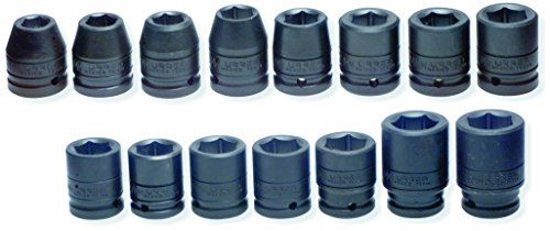 SK Hand Tool 85684 1-Inch Drive Standard Impact Socket 2-5//8-Inch