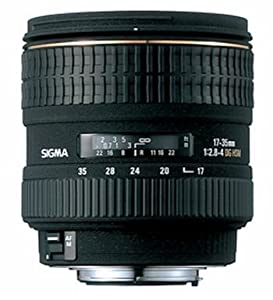 Sigma 17-35mm f/2.8-4 EX DG IF HSM Aspherical Super Wide Angle Zoom Lens for Nikon SLR Cameras