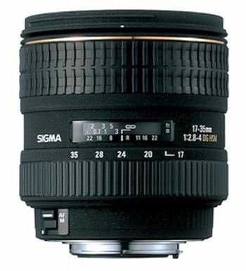 Sigma 17-35mm f/2.8-4 EX DG IF HSM Aspherical Super Wide Angle Zoom Lens for Minolta and Sony SLR Cameras