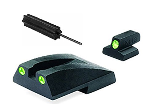 Meprolight The Mako Group Ml11765 Smith & Wesson 1911 Tru-Dot® Night Sight Set - Full Size 1911 + Ultimate Arms Gear Pro Disassembly 3/32 Pin Punch Armorers Gunsmith Tool