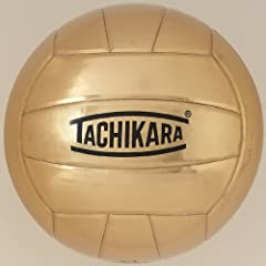 Buy Tachikara Metallic Gold Autograph Volleyball by Tachikara