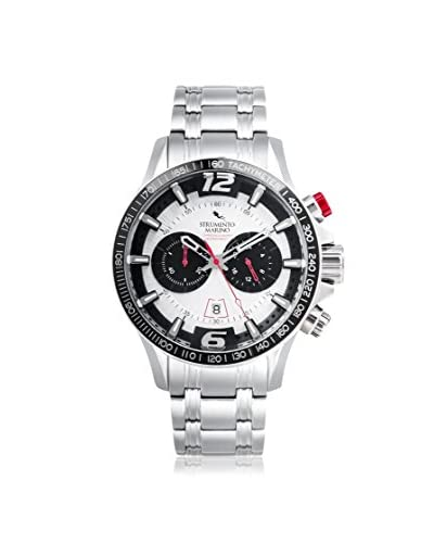 Strumento Marino Men's White SM117MB/SS/BN Watch