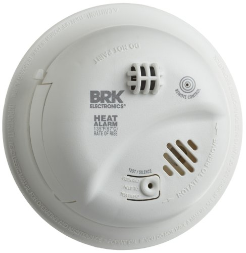 BRK Brands HD6135FB Hardwire Heat Alarm with Battery Backup photo