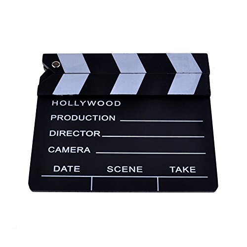 AFAITH� Wooden Director's Film Movie Slateboard Clapper Board SA011