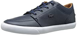 Lacoste Men\'s Bayliss Vulc Prm Us Spm Fashion Sneaker, Blue, 8 M US