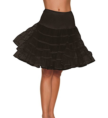 Factoryoffers Women's 50s Rockabilly Petticoat, Layers Net Underskirt