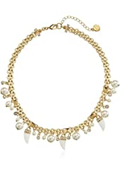 "Carolee LUX ""Party Crasher"" Charm Necklace, 18"""
