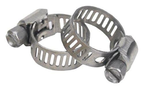 Moeller 184008-10 Stainless Steel Hose Clamp, (Pack of 2)