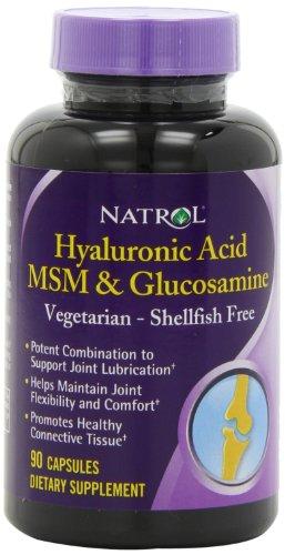 Natrol Végétarienne Acide Hyaluronique MSM et