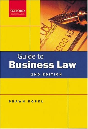 guide to business law Doing business in australia employment law october 2013  doing business in australia – employment law employment  this guide provides a brief overview of.