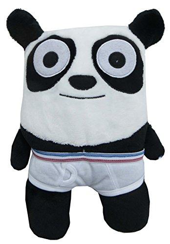 "Animals In Undies Patrick Panda 12"" Plush Toy - 1"
