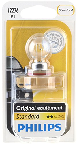 Philips 12276B1 HiPerVision PSX24W Fog Bulb (12276) (Fog Light Bulbs Dodge Charger compare prices)