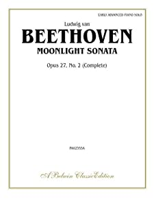 Moonlight Sonata Op 27 No 2 Complete Belwin Classic Library from Alfred Publishing Co., Inc.