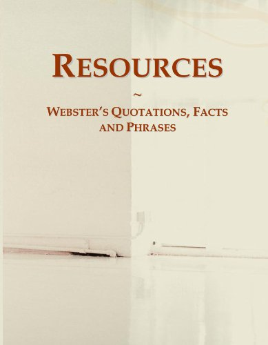 Resources: Webster's Quotations, Facts and Phrases