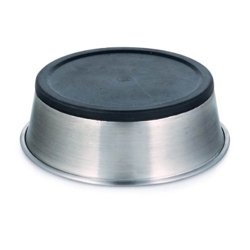 Proselect Stainless Steel Dog Bowl With Rubber Base 8