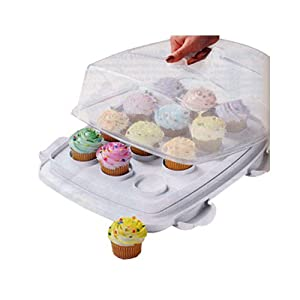 Amazon Deal: Wilton Ultimate 3-In-1 Cupcake Caddy and Carrier – 62% Off