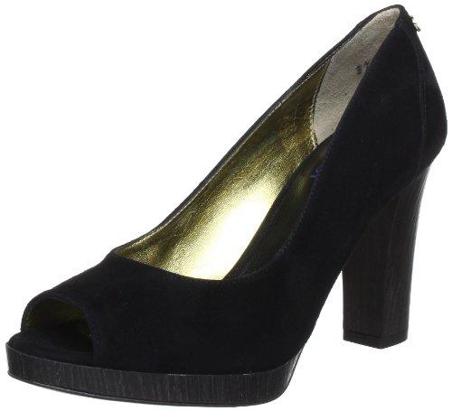 JOOP! Womens 5D1085 Peep-Toe Black Schwarz (black) Size: 5.5 (38.5 EU)