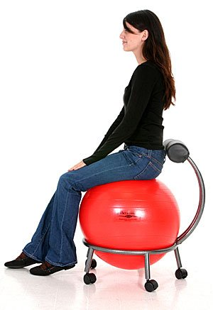 Isokentics Inc. Brand Fitness Ball Chair Review