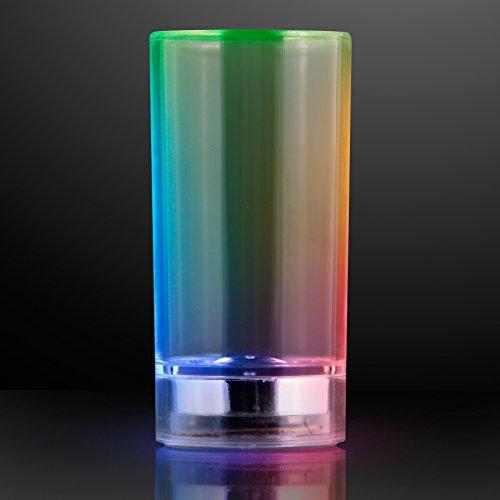 Liquid Activated Light Up Shot Glass (Set of 4)