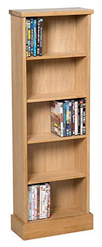 waverly-oak-dvd-cd-storage-rack-in-light-oak-finish-120-dvds-solid-wooden-shelving-tower-holder-stan