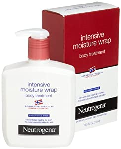 Neutrogena Norwegian Formula, Intense Moisture Wrap, Body Treatment, Fragrance Free, 10.5 Ounce (Pack of 3)
