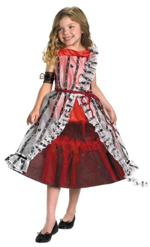 Girl's Alice Court Dress by Costume Craze in Red