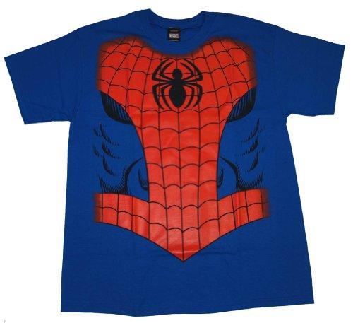 : Spiderman Marvel Comics Super Hero Costume T-Shirt Tee