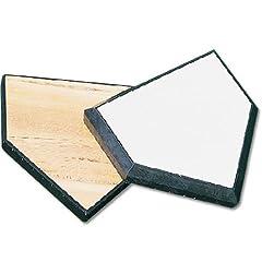 MacGregor Wood-Filled Home Plate by MacGregor