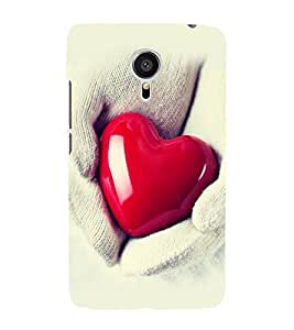 printtech Soft Heart Hands Back Case Cover for Meizu MX5::Meizu Mx 5