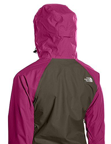 The North Face Damen Regenjacke Stratos, new taupe green, XL, T0CMJ021L -