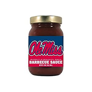 Buy Mississippi Rebels NCAA Sweet & Smoky BBQ Sauce (16oz) by Hot Sauce Harry's