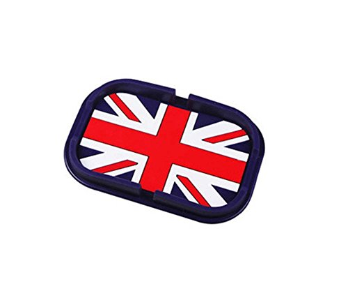 British Flag,Cartoon Silcon Non-slip Car Mat Dashboard Sticky Pad Phone Holder (British Car Mats compare prices)