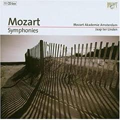 Wolfgang Amadeus Mozart / Jaap ter Linden - Symphonies