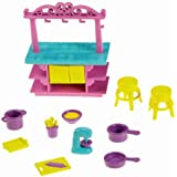 Fisher-Price Dora The Explorer Playtime Together Dora and Me Dollhouse Basic Kitchen Island