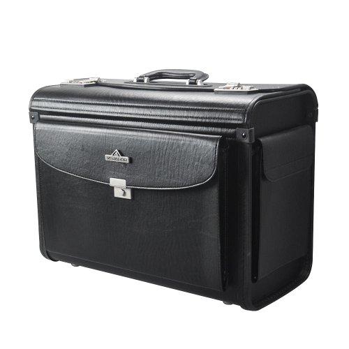 VOJAGOR® PLKO02/O Pilotenkoffer schwarz ca.48x34x21,5