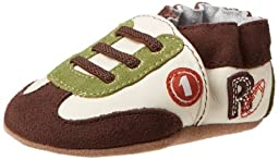 Robeez All Star Rodney BN Crib Shoe (Infant/Toddler),Brown,0-6 Months M US Infant