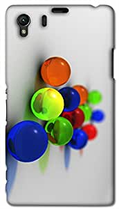 Timpax protective Armor Hard Bumper Back Case Cover. Multicolor printed on 3 Dimensional case with latest & finest graphic design art. Compatible with Sony L39H - Sony 39 Design No : TDZ-25922