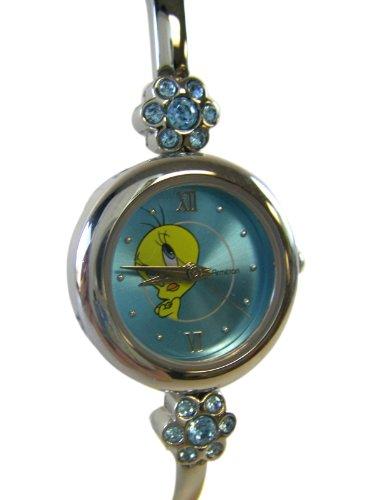 Looney Tunes Silver Analog Bracelet Tweety Bird Watch – Ladies Tweety Watch