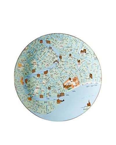 Seletti The World Dinnerware Venice Map Plate