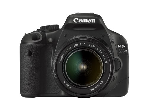 Canon EOS 550D Digital SLR Camera (inc 18-55 mm f/3.5-5.6 IS Lens Kit)