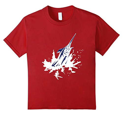 Kids Cut Salt Marlin Life T-Shirt 10 Cranberry (Salt Life Womens Shirts compare prices)
