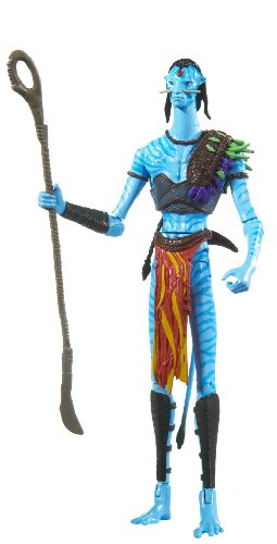 Buy Low Price Mattel James Cameron's Avatar Na'vi Tribal Leader Akwey Figure with Bioluminescence (B0039RHPZ4)