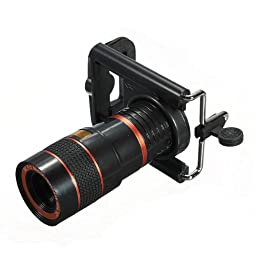 (9999-u) UNIVERSAL 8X LONG FOCAL LENS TELESCOPE (USA)